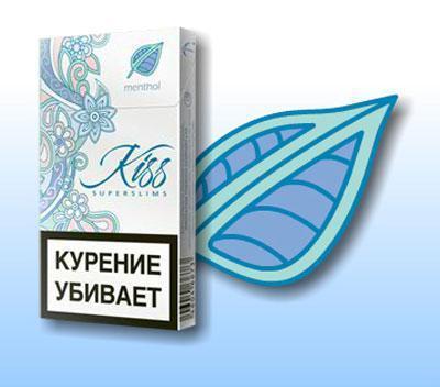 Сигареты kiss choco: вкусы, содержание никотина, смолы