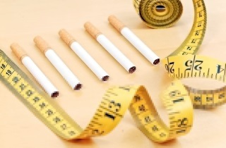 Толстею после того как бросил курить: что делать