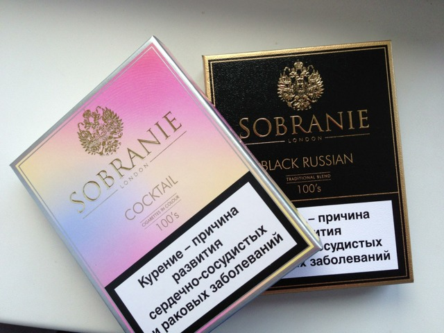Сигареты sobranie, Собрание: виды, вкусы, содержание никотина, смолы