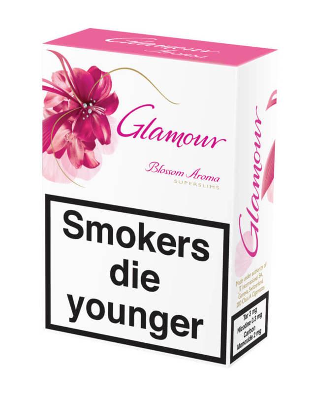 Сигареты Гламур, glamour: вкусы, содержание никотина, смолы