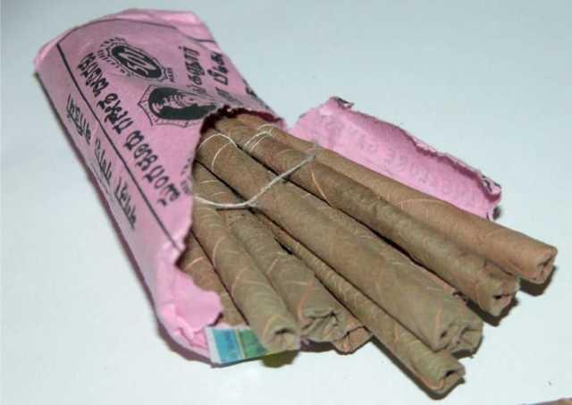 Индийские сигареты Биди: вкусы, содержание никотина, смолы