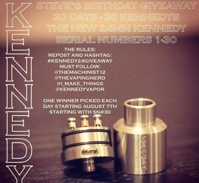 Дрипка Кеннеди, kennedy: rda, обзор, атомайзер