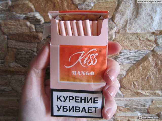 Сигареты Кисс, kiss: виды, вкусы, содержание никотина, смолы