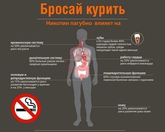 Как курение влияет на желудок и кишечник: влияние, воздействие