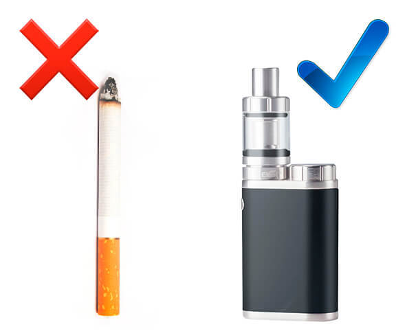 Жидкость для вейпа без никотина: безникотиновая