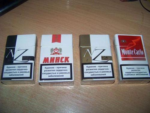 Белорусские сигареты: виды, вкусы, содержание никотина, смолы