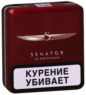 Сигареты Сенатор, senator: вкусы, содержание никотина, смолы