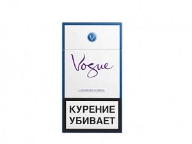Сигареты Вог, vogue: виды, вкусы, содержание никотина, смолы