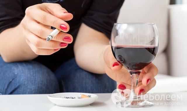 Вред курения на организм человека: алкоголя, кратко, мужчины