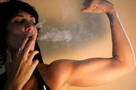 Курение и спорт: курящие спортсмены, тренировки, занятия